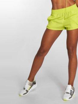 adidas originals Shortsit Highwaist keltainen