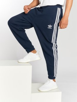 adidas originals Spodnie do joggingu 3-Stripes Pants niebieski