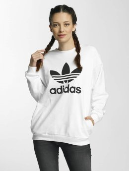 adidas originals Sweat & Pull Trefoil blanc