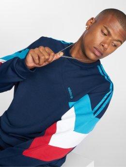 adidas originals Sweat & Pull Palmeston Crew bleu