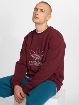 adidas originals Sweat & Pull Outline Crew rouge