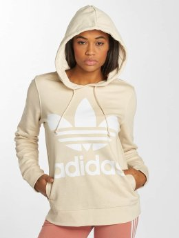 adidas originals Sweat capuche Trefoil beige