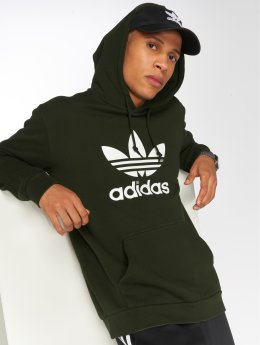 adidas originals Sweat capuche Trefoil olive