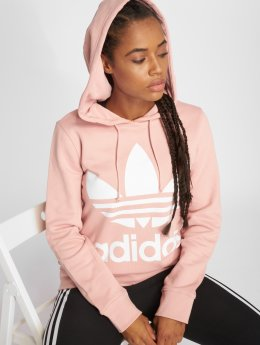 adidas originals Sweat capuche Trefoil rose