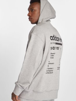 adidas originals Sweat capuche zippé Kaval Fz gris