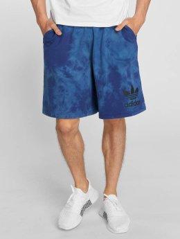 adidas originals Szorty Tie-Dye niebieski