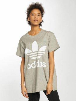 adidas originals T-paidat Big Trefoil harmaa