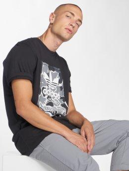 adidas originals T-paidat Camo Label Tee musta