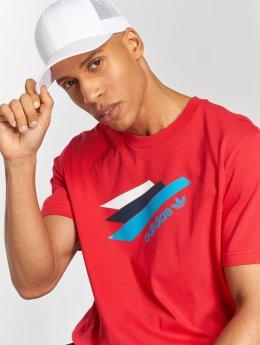adidas originals T-paidat Palemston Tee punainen