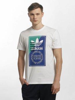 adidas originals T-paidat Tongue Label 2 valkoinen
