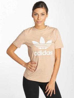 adidas originals t-shirt Trefoil beige