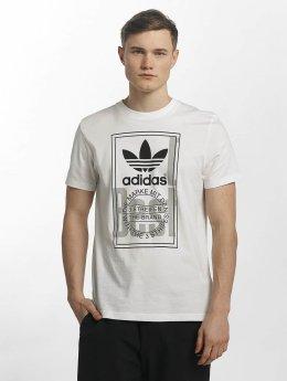 adidas originals T-Shirt Tongue Label blanc
