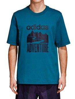 adidas originals T-Shirt Atric Adventure blau