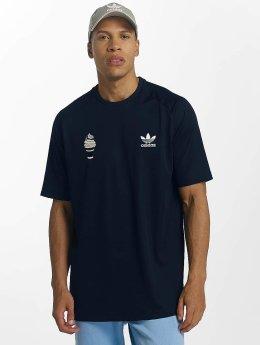 adidas originals T-Shirt Football bleu