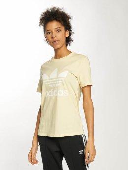 adidas originals T-Shirt Trefoil gelb