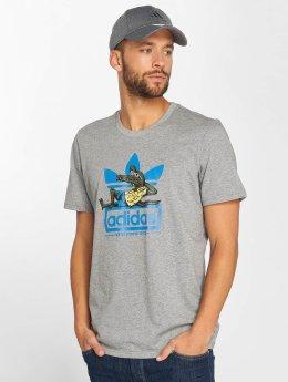 adidas originals t-shirt Laid Out grijs