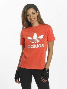 adidas originals T-Shirt Trefoil rot