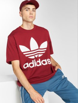 adidas originals T-Shirt Oversized Tee rouge