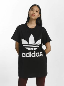 adidas originals T-Shirt Big Trefoil schwarz