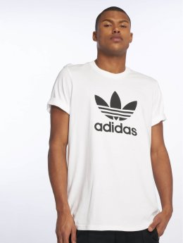 adidas originals T-Shirty Trefoil bialy