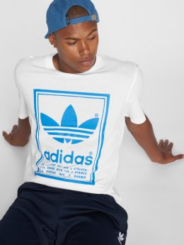 adidas originals T-Shirty Vintage Tee bialy