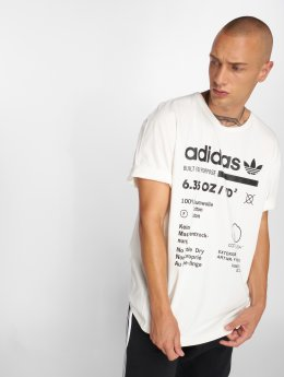 adidas originals T-Shirty Kaval Grp Tee bialy