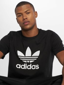 adidas originals T-Shirty Trefoil czarny