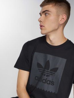 adidas originals T-Shirty Solid Bb T czarny