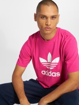 adidas originals T-Shirty Trefoil pink