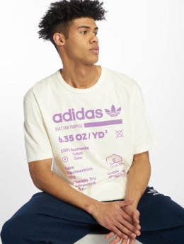 adidas originals T-skjorter Kaval Grp Tee hvit