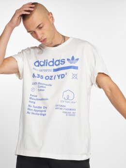adidas originals T-skjorter Kaval Grp hvit