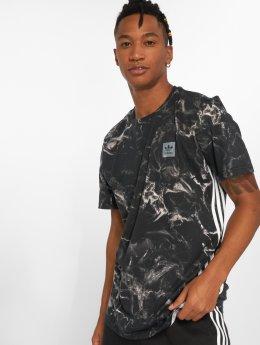 adidas originals T-skjorter Mrbl Stripe svart