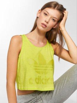 adidas Loose Crop Tank Top Semi Solar Yellow