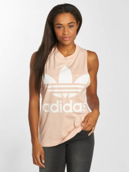 adidas originals Tanktop Trefoil rose