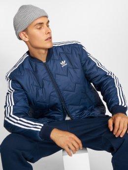 adidas originals Transitional Jackets Sst Quilted blå