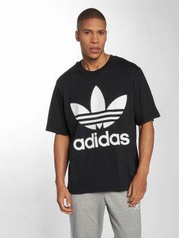 adidas originals Tričká Oversized èierna