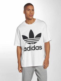 adidas originals Tričká Oversized biela