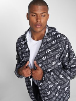 adidas originals Übergangsjacke Monogram Wb Transition schwarz