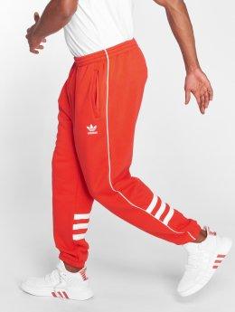 adidas originals Verryttelyhousut Auth Sweatpant punainen