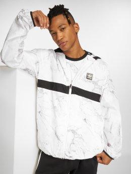 adidas originals Veste mi-saison légère Marb Bb Pckble Transition blanc