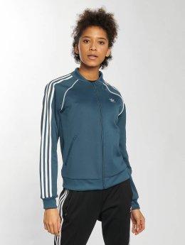 adidas originals Veste mi-saison légère SST Originals bleu