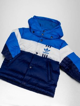 adidas originals winterjas ID-96 blauw