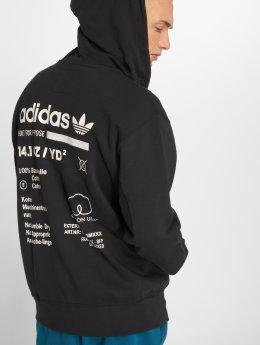 adidas originals Zip Hoodie Kaval Fz svart