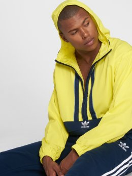 adidas originals Zomerjas Auth Anorak Transition geel