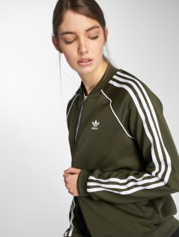 adidas originals Zomerjas Sst Tt Transition olijfgroen