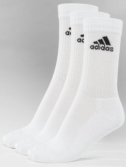 adidas Performance / Sportssokker Performance 3-Stripes Performance Crew i hvid