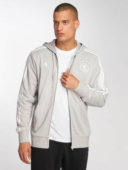 adidas Performance Sweat capuche zippé DFB gris