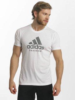 adidas Performance T-paidat Adi Training valkoinen