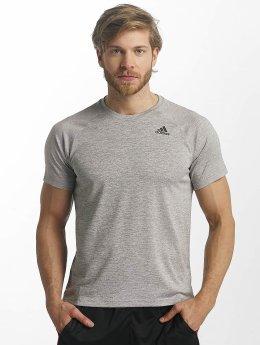Adidas D2M Heathered T-Shirt Medium Grey Heather