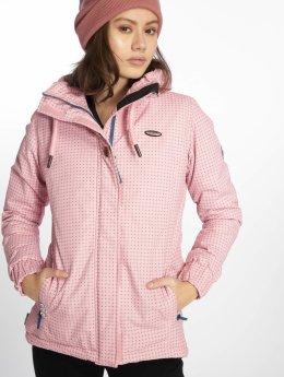 Alife & Kickin Демисезонная куртка Jade розовый